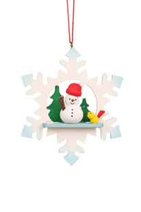 BB Figur in Schneeflocke