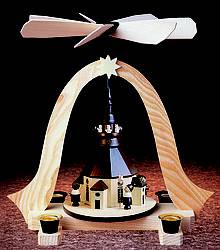 Seiffner Kirche Turmbläser