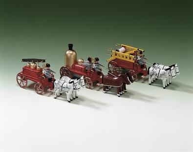 Handdruckspritze Dapfspritze Leiterwagen