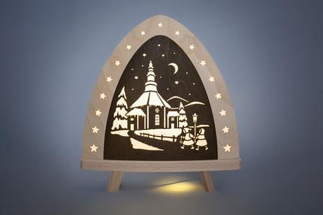 Seiffener Kirche LED.