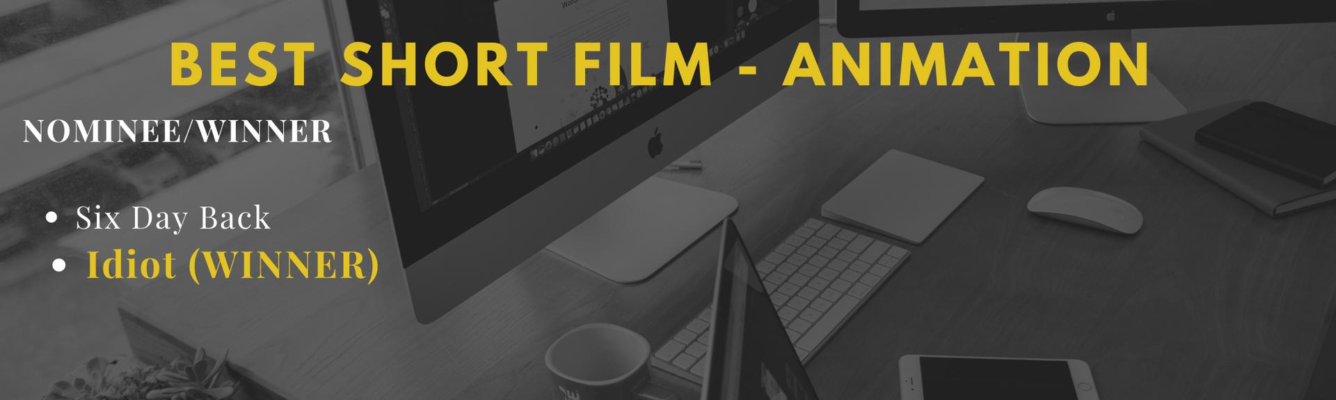 Best Short Film - Animation