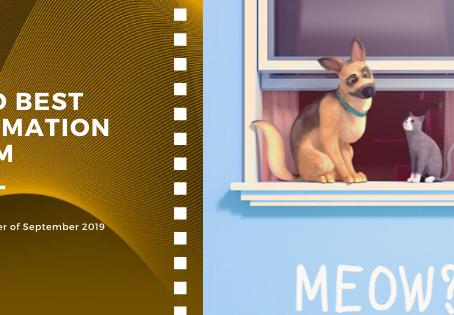 Golden Earth Film Award's 2ND Best Animation Film winner of September 2019 Edition