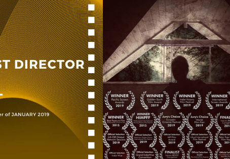 Golden Earth Film Award's Best Director winner of January 2019 Edition