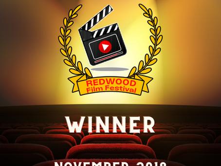 NOVEMBER 2018- Winner