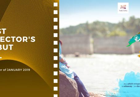 Golden Earth Film Award's Best Director's Debut winner of January 2019 Edition