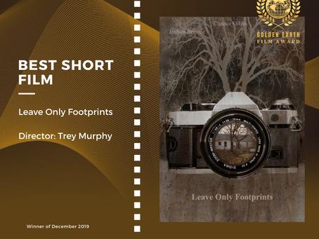 Golden Earth Film Award's Best Short  Film winner of December 2019 Edition