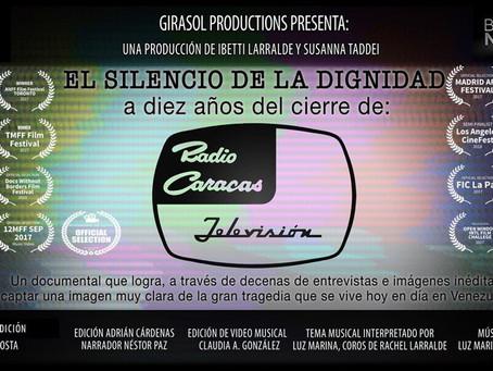 RCTV: El Silencio de la Dignidad w/subtitles English (Trailer)