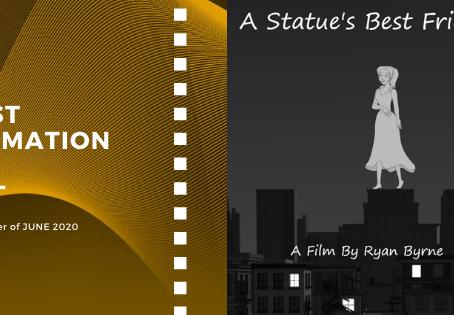 Golden Earth Film Award's Best Animation Film winner of June 2020 Edition