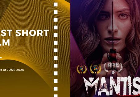 Golden Earth Film Award's Best Short Film winner of June 2020 Edition