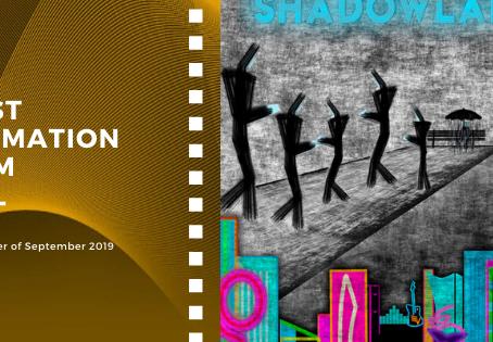 Golden Earth Film Award's Best Animation Film winner of September 2019 Edition