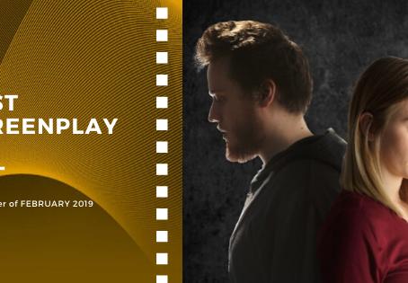 Golden Earth Film Award's Best Screenplay winner of February 2019 Edition