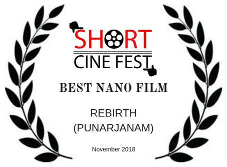 WINNER of the SHORT (November 2018)