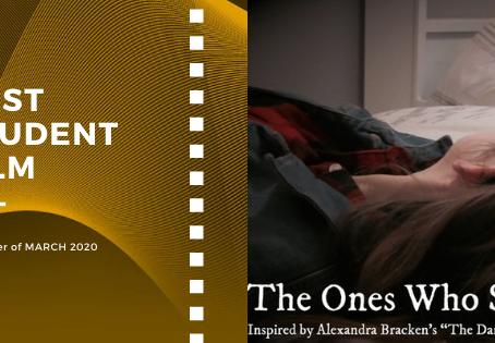 Golden Earth Film Award's Best Student Film winner of March 2020 Edition