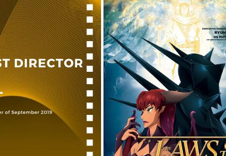 Golden Earth Film Award's Best Director winner of September 2019 Edition
