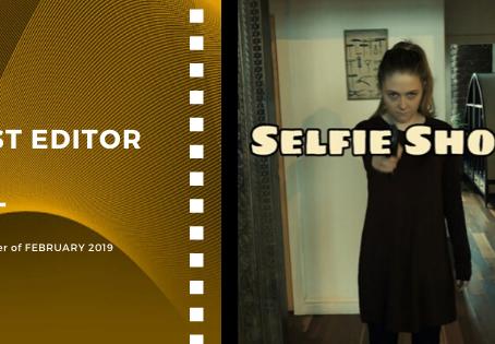 Golden Earth Film Award's Best Editor winner of February 2019 Edition