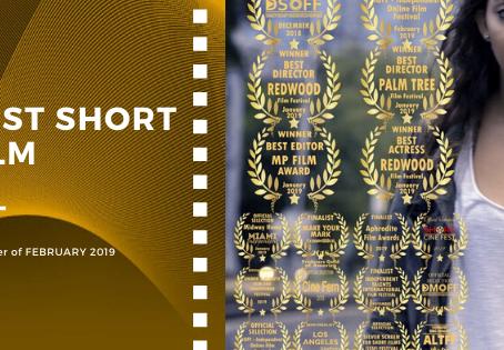 Golden Earth Film Award's Best Short Film winner of February 2019 Edition