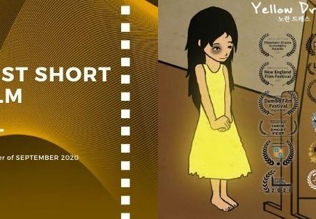 Golden Earth Film Award's Best Short Film winner of September 2020 Edition