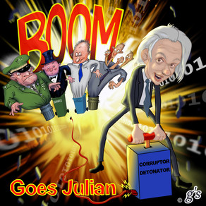 Boom goes Julian
