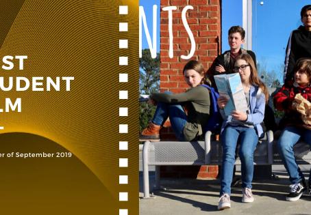 Golden Earth Film Award's Best Student Film winner of September 2019 Edition