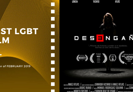 Golden Earth Film Award's Best LGBT Film winner of February 2019 Edition