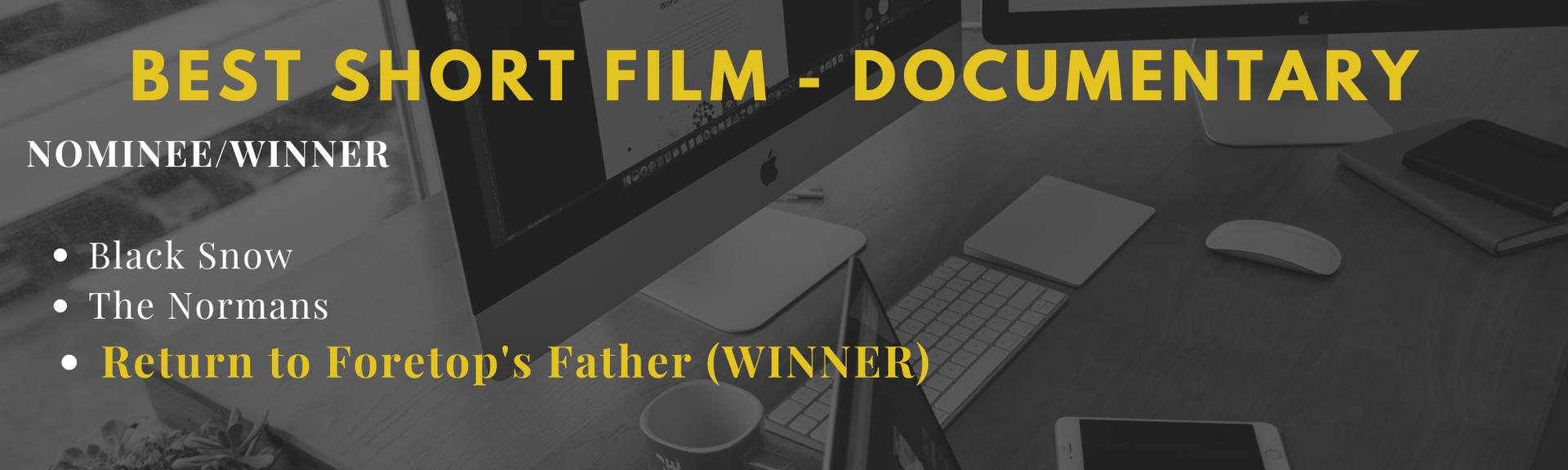 Best Short Film - Documentary