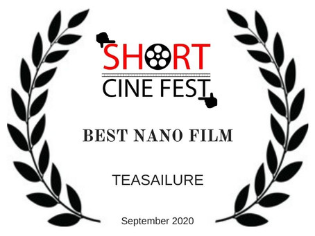 WINNER OF THE SHORT (SEPTEMBER 2020)