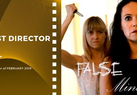 Golden Earth Film Award's Best Director winner of February 2019 Edition