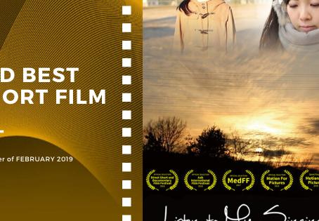 Golden Earth Film Award's 3rd Best Short Film winner of February 2019 Edition