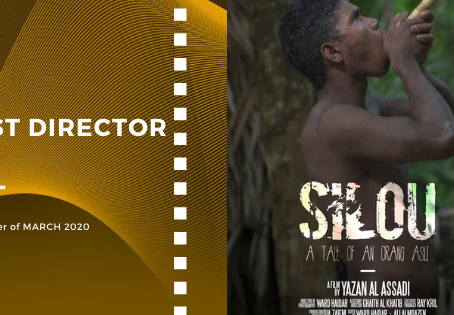 Golden Earth Film Award's Best Director winner of March 2020 Edition
