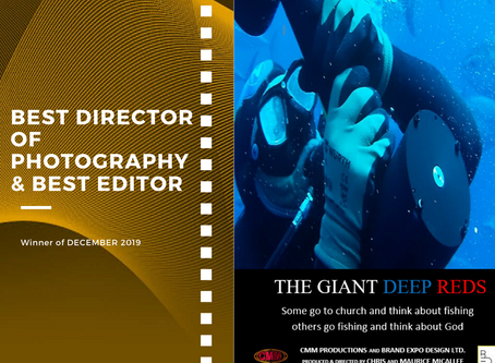 Golden Earth Film Award's Best D.O.P and Best Editor winner of December 2019 Edition