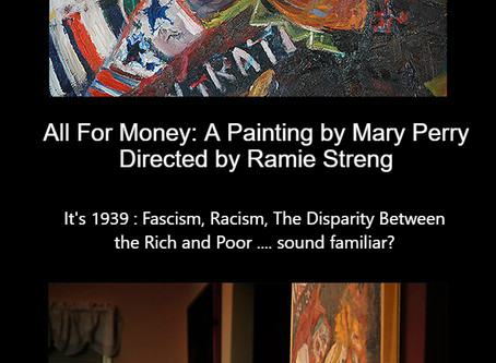 All For Money: A Painting by Mary Perry