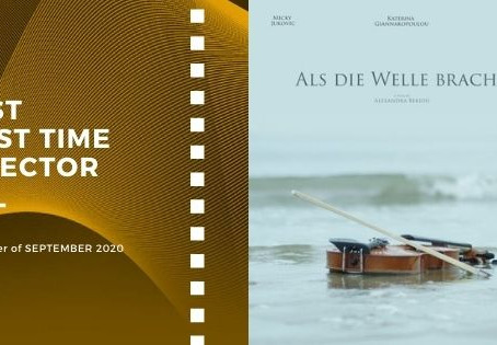 Golden Earth Film Award's Best First Time Director winner of September 2020 Edition