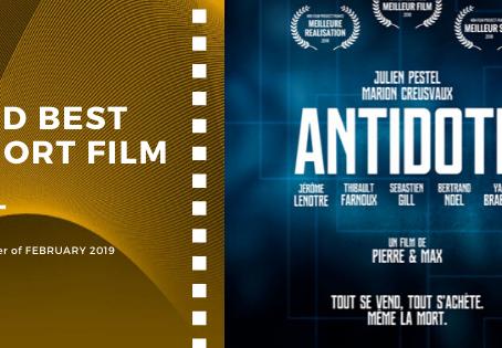 Golden Earth Film Award's 2nd Best Short Film winner of February 2019 Edition