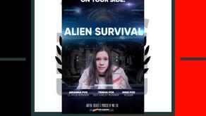 """Sci-Fi Short Film """"Alien Survival"""" by Mike Fox"""
