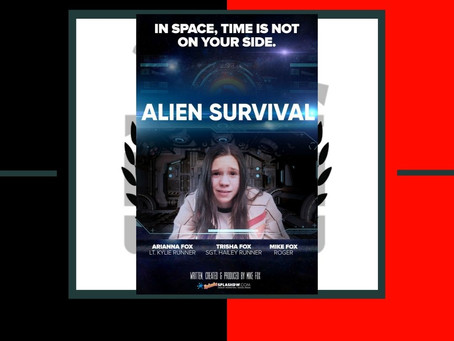 "Sci-Fi Short Film ""Alien Survival"" by Mike Fox"