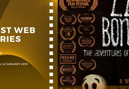 Golden Earth Film Award's Best Web Series winner of January 2019 Edition