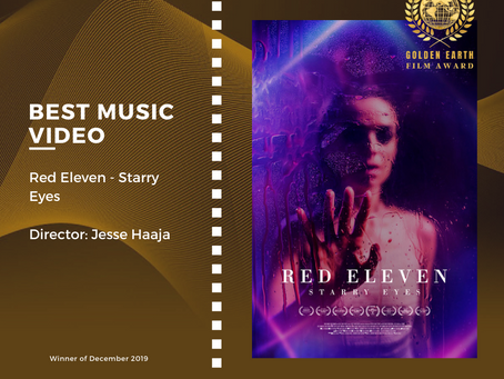 Golden Earth Film Award's Best Music Video winner of December 2019 Edition