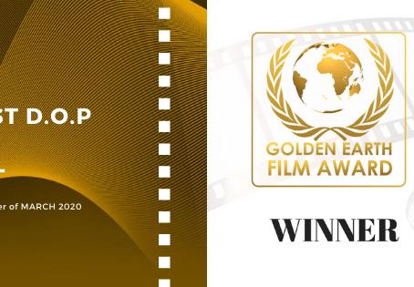 Golden Earth Film Award's Best D.O.P winner of March 2020 Edition