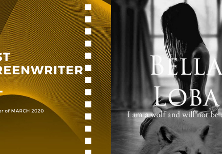 Golden Earth Film Award's Best Screenwriter winner of March 2020 Edition