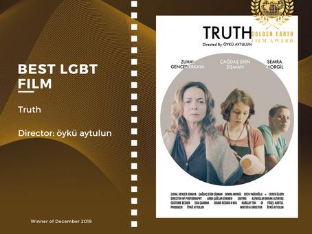 Golden Earth Film Award's Best LGBT Film winner of December 2019 Edition