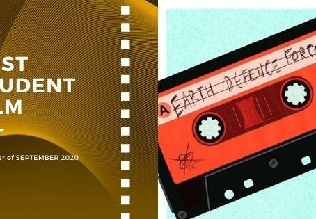 Golden Earth Film Award's Best Student Film winner of September 2020 Edition