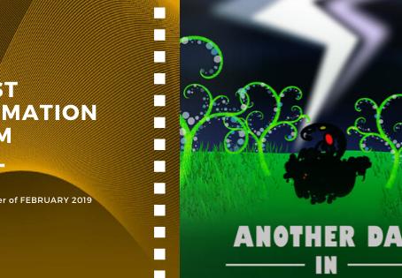 Golden Earth Film Award's Best Animation Film winner of February 2019 Edition