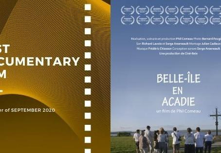 Golden Earth Film Award's Best Documentary Film winner of September 2020 Edition