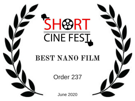 WINNER of the SHORT (June 2020)