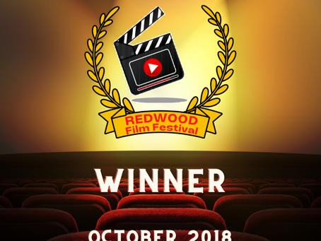 OCTOBER 2018- Winner