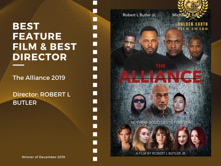Golden Earth Film Award's Best Feature Film and Best Director winner of December 2019 Edition