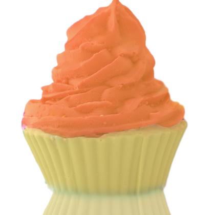 Orange Creme Cupcake Soap