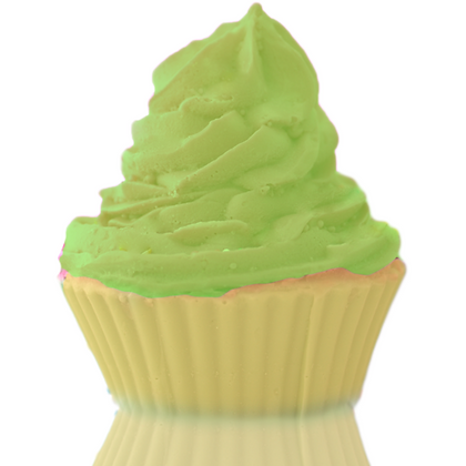 Frosted Lime Cupcake Soap