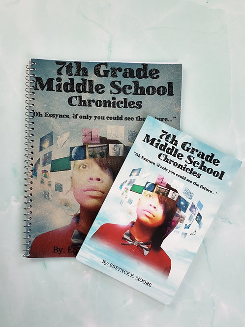 7th Grade Middle School Chronicles BOOK and WORKBOOK