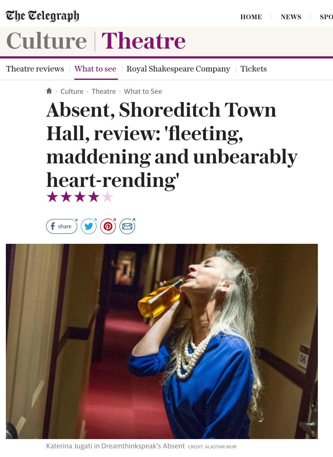 Telegraph Review